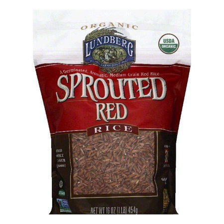 Lundberg Sprouted Red Rice  16 Oz  Pack Of 6