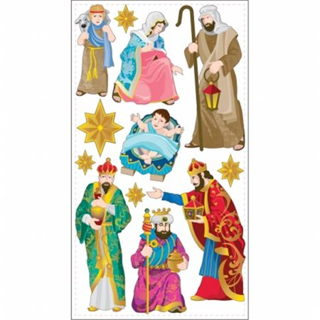 Sticko Stickers-Nativity - Nativity Stickers