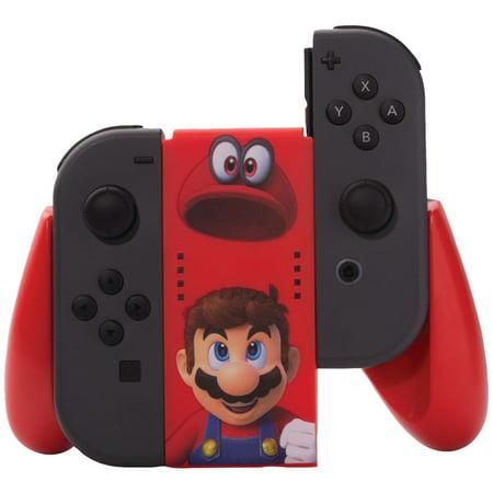 PowerA Joy-Con Comfort Grip for Nintendo Switch - Mario Odyssey (1502661-01)