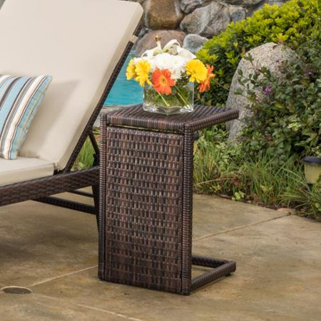 Wicker Accents - Forrest Outdoor Wicker Accent Table