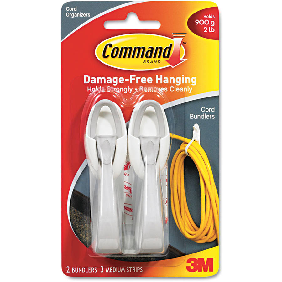 Command Cord Clips 17304 White