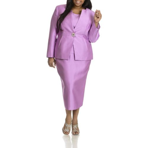 Giovanni Giovanna Collection Women S Plus Size 3 Piece Skirt Suit