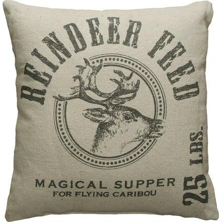 Reindeer Feed Pillow - Reindeer Feed