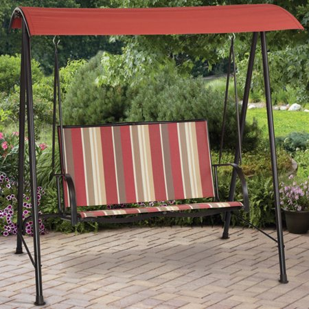 Mainstays Ms 2 Person Sling Swing Striped - Walmart.com
