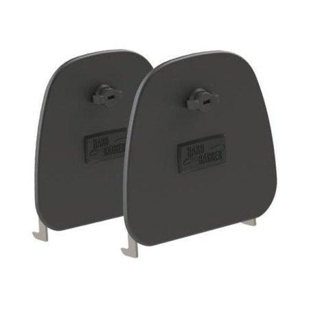 - HardBagger 11410 Aluminum Lower Fairing Door - Set of 2 Locking