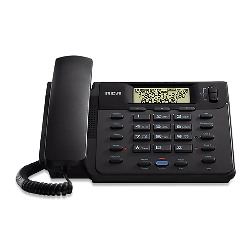 RCA ViSYS 25201RE1 2-Line Corded Speakerphone
