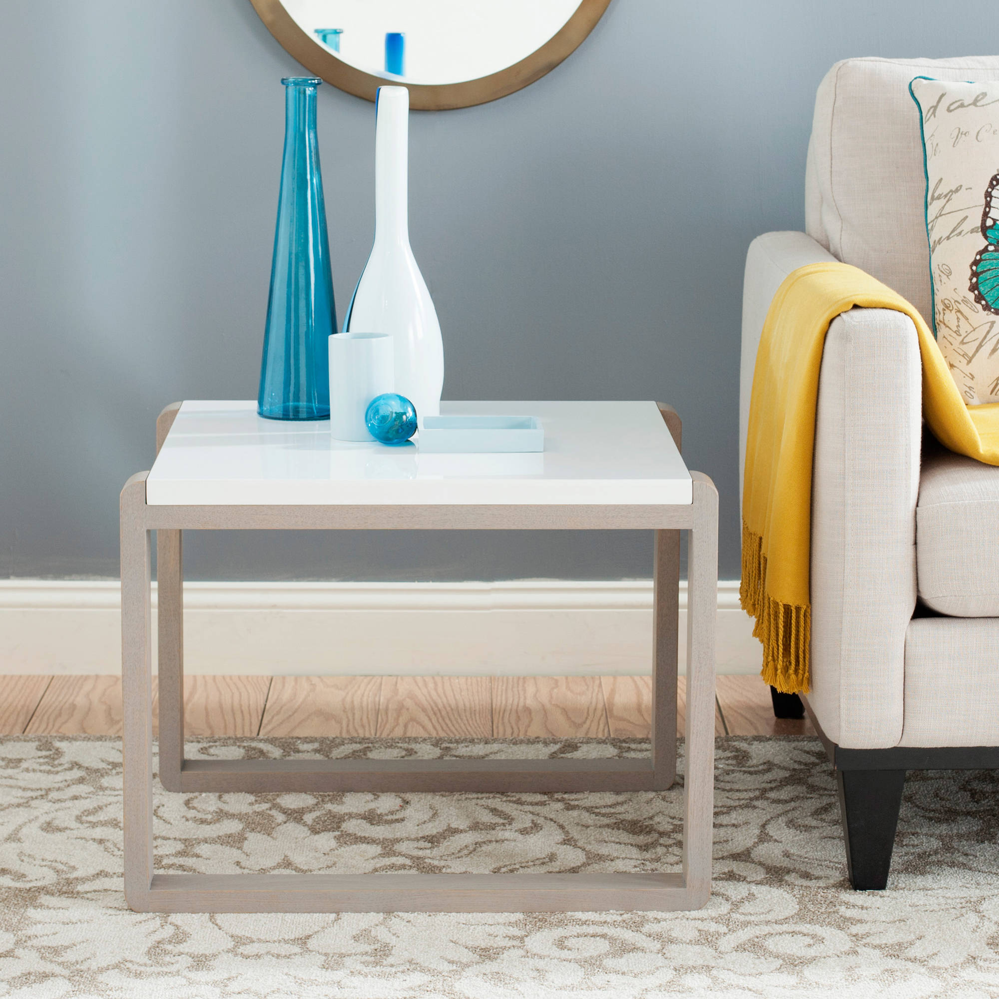 Safavieh Bartholomew Lacquer End Table