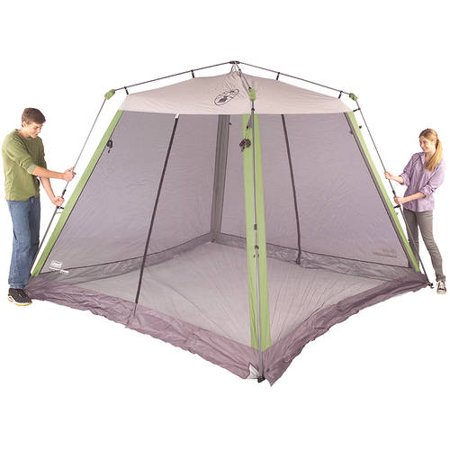 Coleman 10'x10' Instant Canopy/Screen House - Best Screen ...