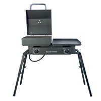 Blackstone 2- Burner Tailgater Combo Grill and Griddle
