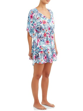 775563e49 Product Image Women's Tropical Rainforest Cover-Up