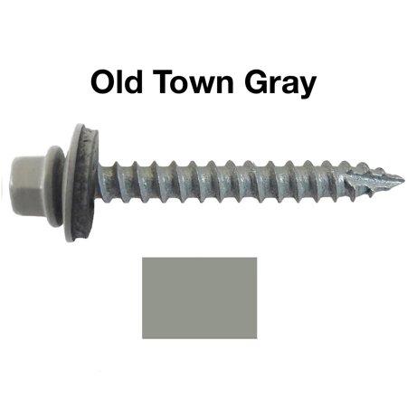 14 Metal Roofing Screws 250 Screws X 2 Quot Old Town Gray