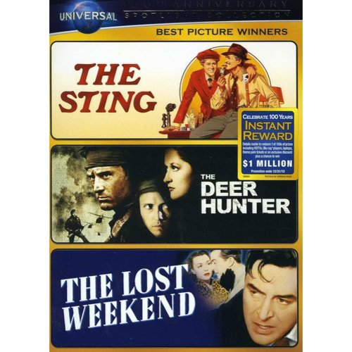 Best Picture Winners Spotlight Collection: The Sting / The Deer Hunter / The Lost Weekend (Universal 100th Anniversary Collector's Series) (Anamorphic Widescreen, Full Frame, ANNIVERSARY)
