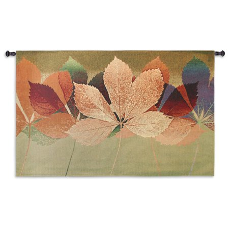 Fine Art Tapestries Robert Mertens 'Leaf Dance II' Cotton Wall Tapestry