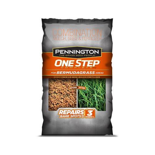 Pennington 100522285 One Step Complete Grass Seed Mix, Be...