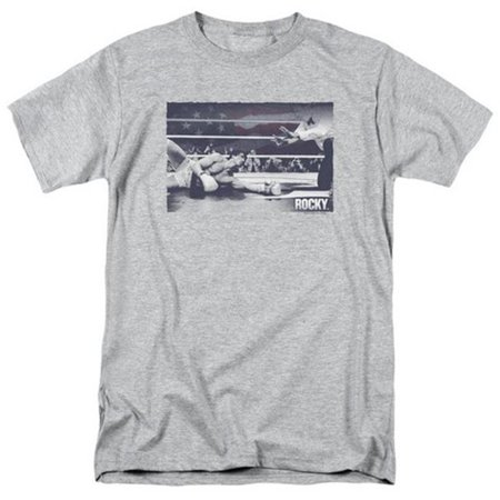 Rocky-American Will Short Sleeve Adult 18-1 Tee, Athletic Heather - 2X - image 1 de 1