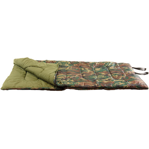 Texsport Base Camp 40-Degree Adult Sleeping Bag by Generic