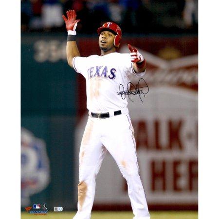 Elvis Andrus Texas Rangers Fanatics Authentic Autographed 16