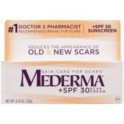 Mederma Scar Cream, +SPF 30, 0.70 Ounce Tube
