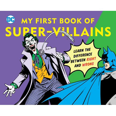 My First Book of Super Villains Learn th (Board - Super Villain Couples