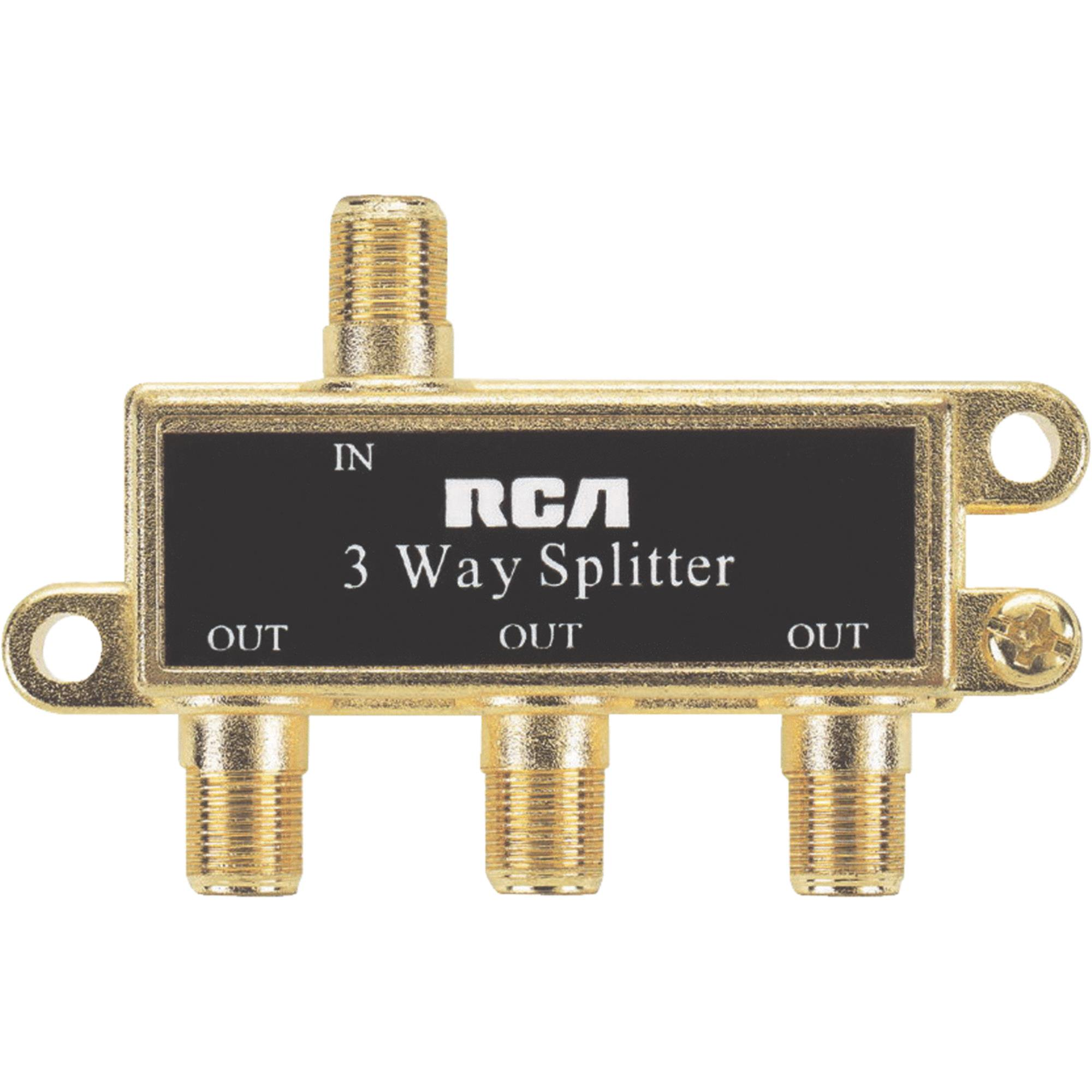 RCA VH48N 3-Way Splitter
