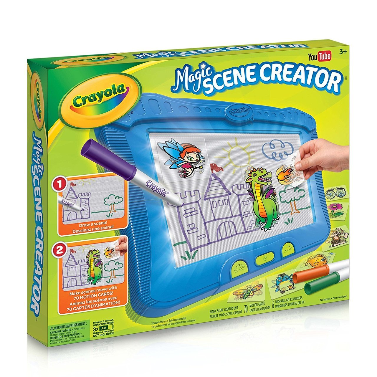Crayola Magic Scene Creator Drawing Kit for Kids by Crayola