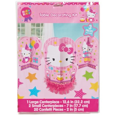 Hello Kitty Table Decorations Party Supplies Walmart Com