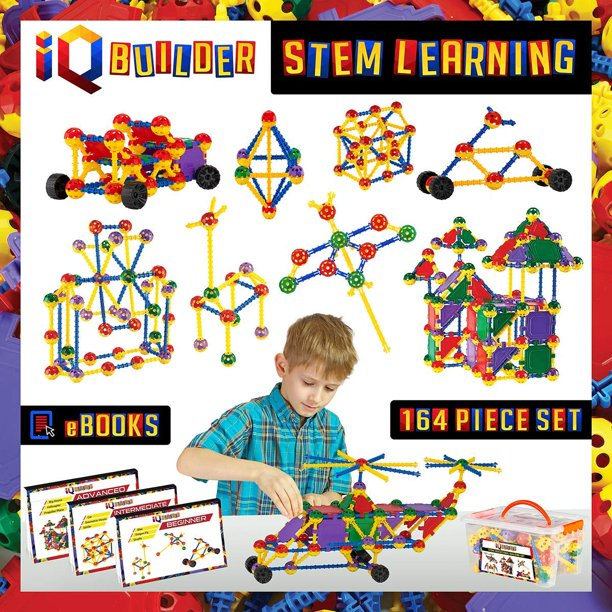 IQ BUILDER STEM Learning Toys | Creative Construction ...