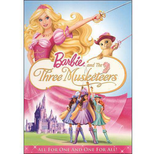 BARBIE AND THE THREE MUSKETEERS [DVD] [2009] [REGION 1]