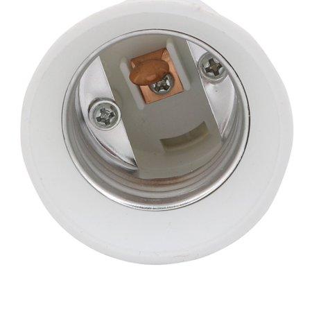 5pcs B22 to E27 Light Lamp Bulb All Direction Extender Adapter White 50cm Length - image 1 of 5