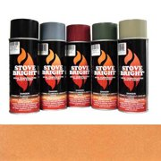 Copper - 1200 Degree Wood Stove High Temp Paint -