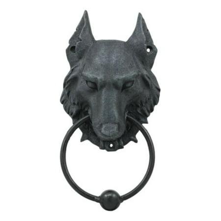 Full Moon Werewolf Gothic Door Knocker on walmart