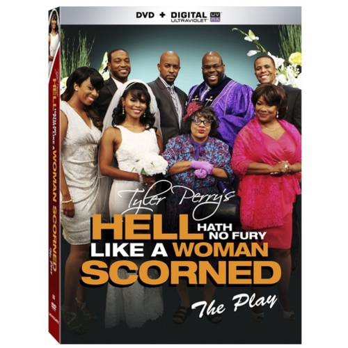 Tyler Perry's Hell Hath No Fury Like A Woman Scorned (DVD   Digital Copy) (With INSTAWATCH) (Widescreen)