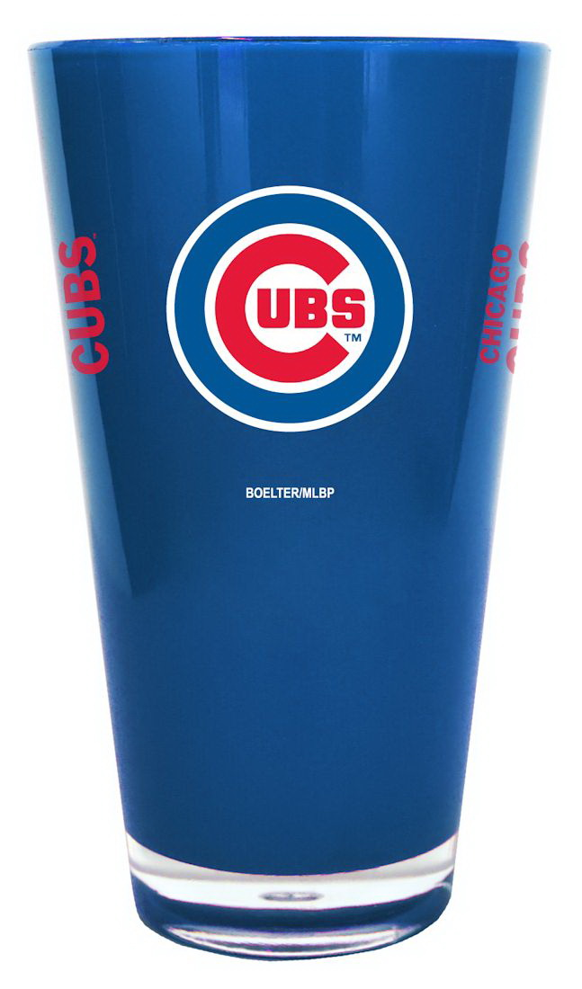 Chicago Cubs 20 oz Insulated Plastic Pint Glass by Boelter Brands by Boelter Brands