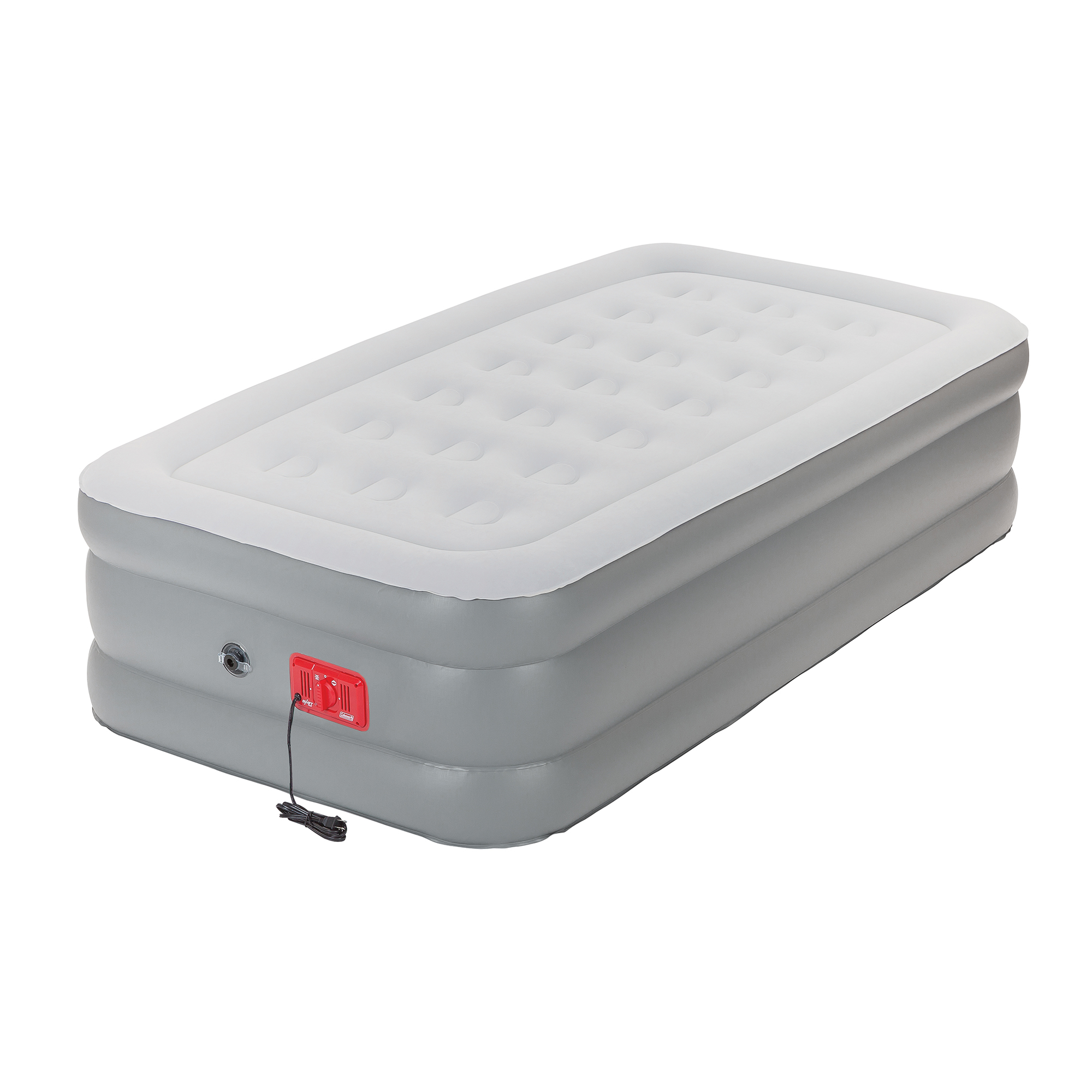 Coleman SupportRest Elite Double-High Inflatable Airbed with Built-In Pump, Twin
