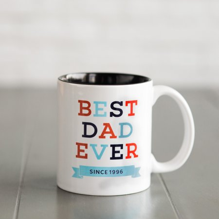 Personalized Mugs for Dad Best Dad Ever