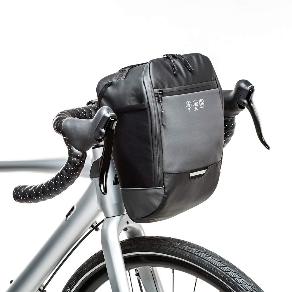 JN/_ Waterproof Large Capacity Bicycle Bike Front Handlebar Storage Bag Pouch P