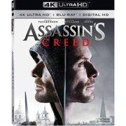 Assassin's Creed (4K Ultra HD + Blu-ray + Digital HD)