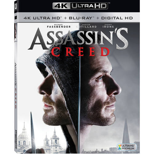 Assassin's Creed (4K Ultra HD + Blu-ray + Digital HD)