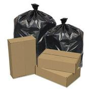 Pitt Plastics PITEC434712K Eco Strong Can Liners, 56 Gal, 43 X 47, 1.2 Mil, 100/carton