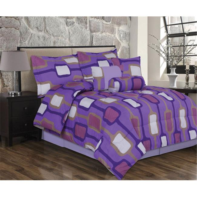 J&V Textiles Bianca Queen, Extra-Soft Printed Comforter Collection