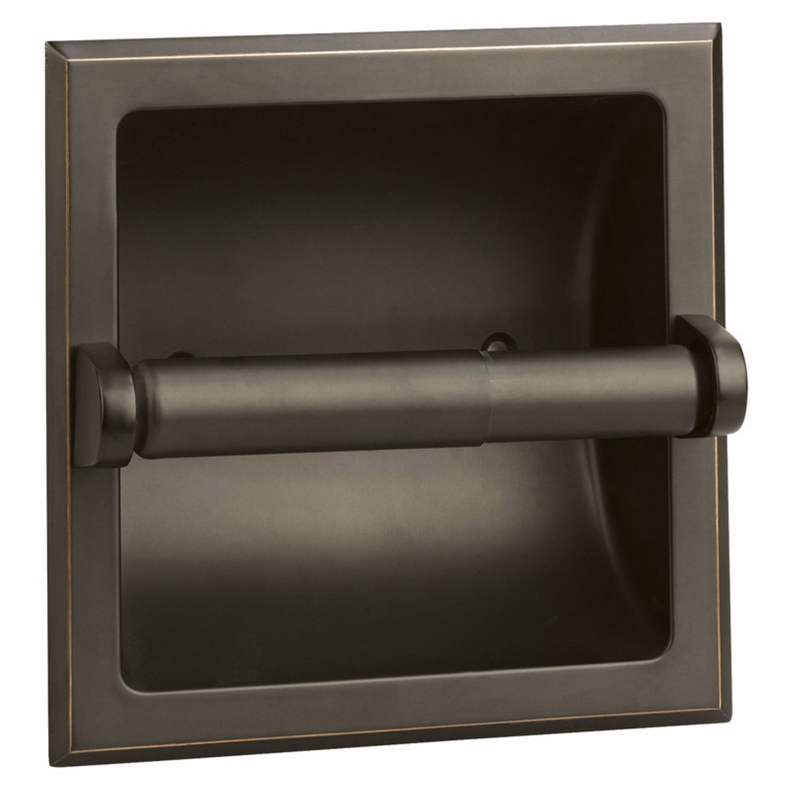 design house millbridge recessed toilet paper holder oil rubbed bronze