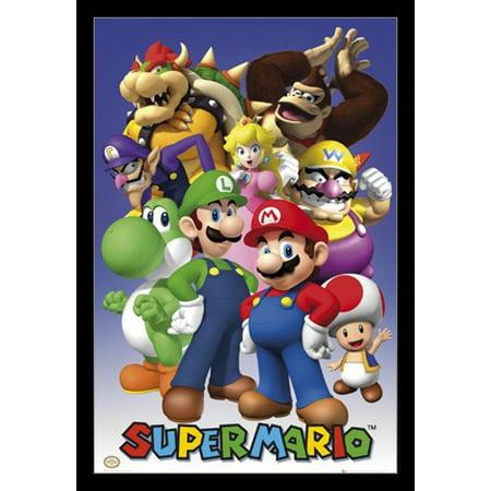 Nintendo All Stars Poster Poster Print - Nintendo Halloween Posters