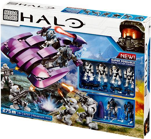 Mega Bloks Halo Covenant Revenant Raid