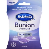 Dr. Scholl's Duragel Bunion Cushions 5 ea (Pack of 2)