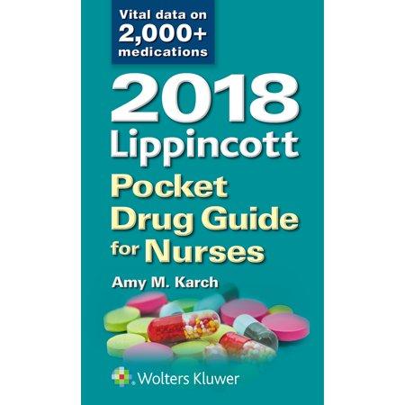 2018 Lippincott Pocket Drug Guide for (Best Nurse Drug Books)