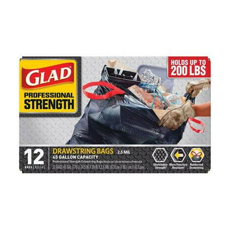 Professional Strength 45 Gal Trash Bags
