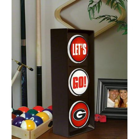 NCAA - Georgia Bulldogs - Let's Go - Flashing Traffic Light