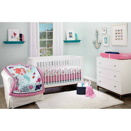 Disney Ariel Sea Treasures Crib Nursery Bedding