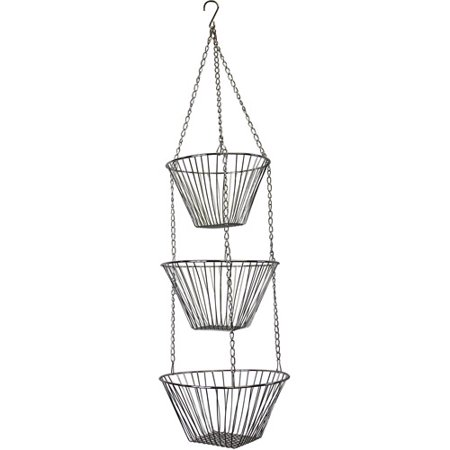 Fox Run 6312 Chrome Hanging Baskets - Hanging Basket Collection