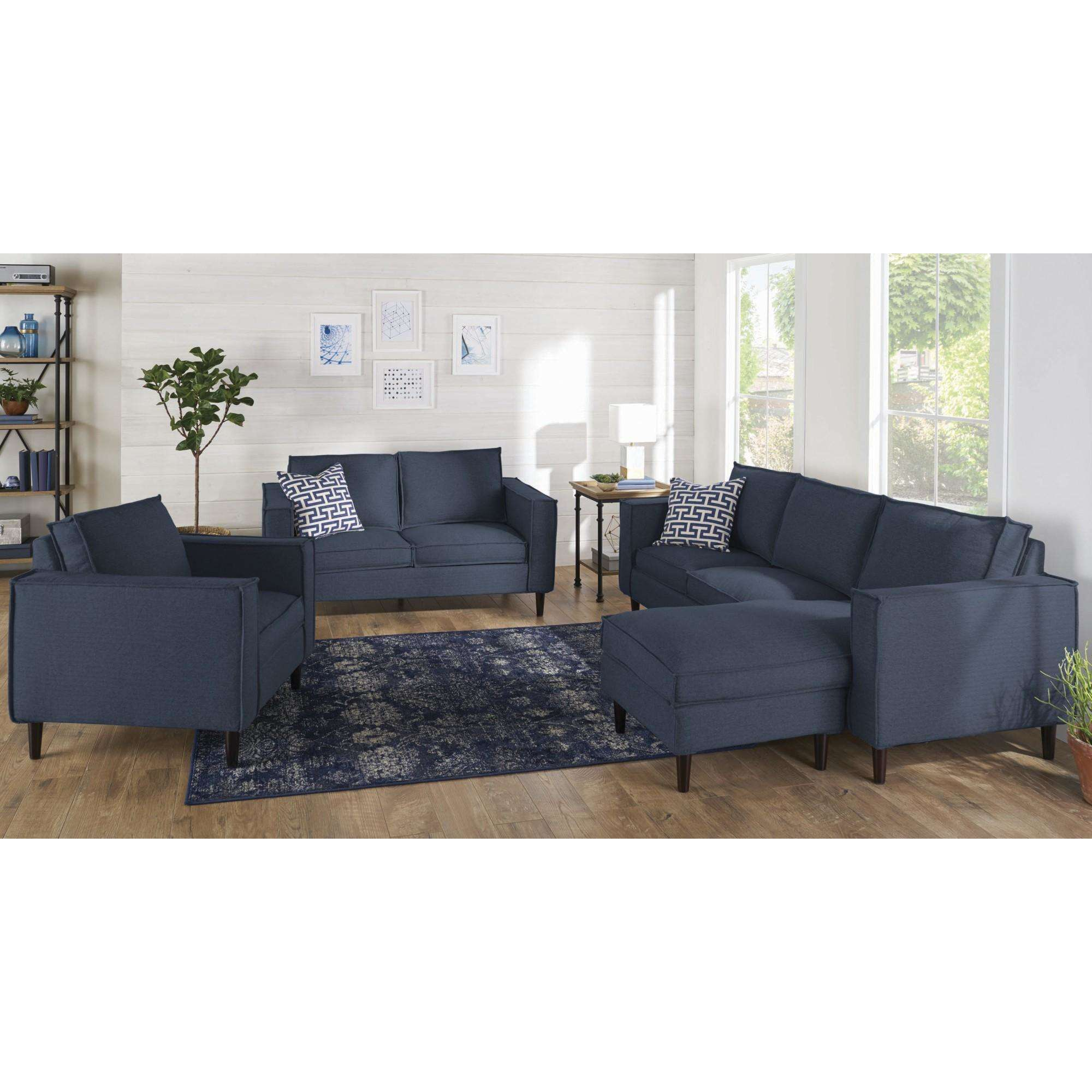 Better Homes and Gardens Campbell Reversible Sectional, Multiple Colors